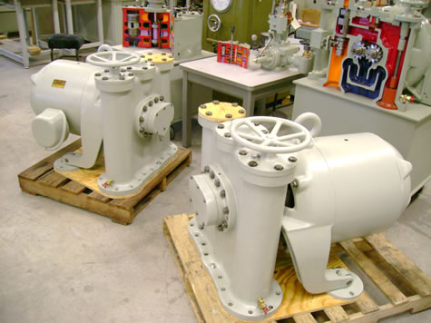 Two overhauled 40HP XX Pumps ready to ship
